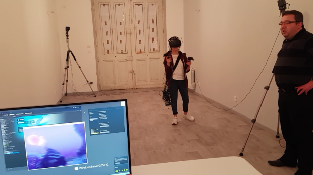 Wireless VR