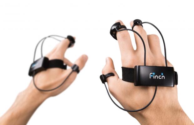 人差し指ミニタッチパッッド付きvrモーションハンドコントローラ「finch Dk1」が登場。両手で238ドル