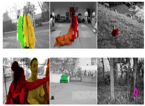 動画内のオブジェクトに色付けするコンピュータビジョンモデル