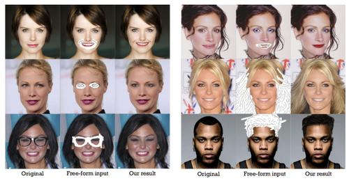 合成顔画像を生成する機械学習を用いた手法