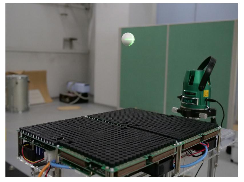 東京大学と南山大学、超音波でより大きな物体(対角線長50mmの正八面体)を浮揚させるアプローチを発表