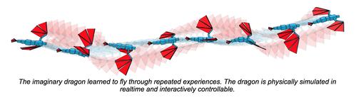飛行生物が自分の飛行方法を学習し習得する機械学習アルゴリズム
