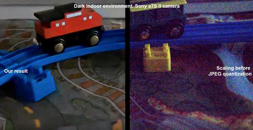 機械学習を用いて暗い環境で撮られた画像を修正するためのデータセットと手法を