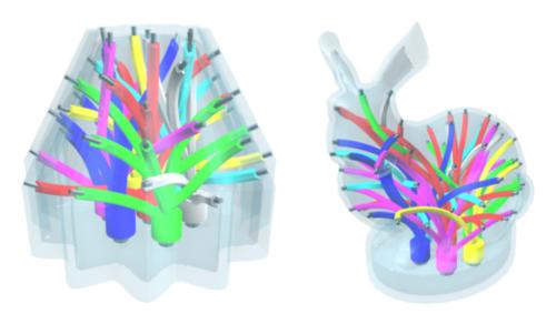 3Dプリントした物体の動きを追跡してプロジェクションマッピング