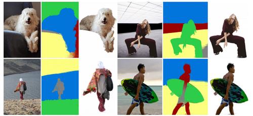 画像の前景オブジェクトと背景を分離し再合成するCNNを用いた手法