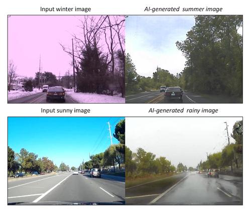 教師なし学習と生成モデルを組み合わせて画像から画像へ変換する手法を論文