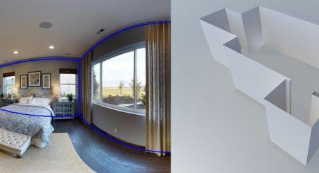 国立清華大学など、複雑な間取りでも部屋の2Dパノラマ画像から3Dレイアウトを作成する半自動システムを発表