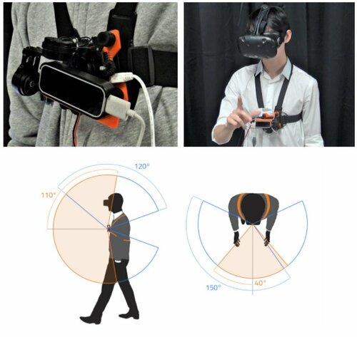 VRのハンドトラッキング範囲を拡張