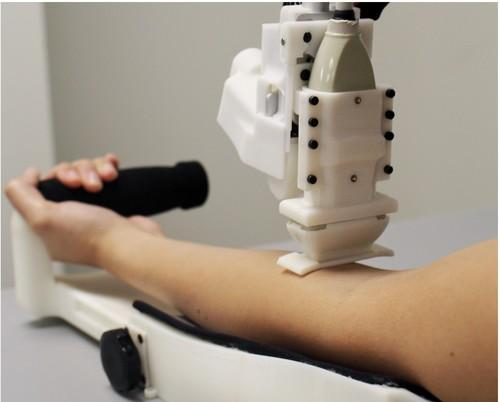 自動採血および試験装置