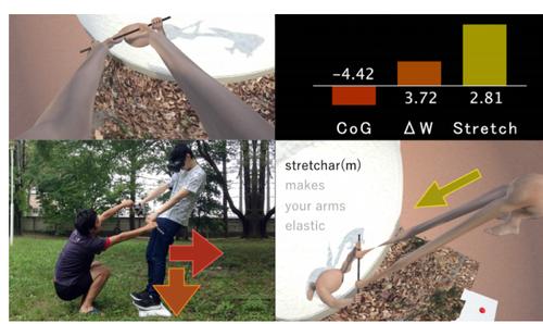 「腕が伸びる感覚」をVR体感できるシステム