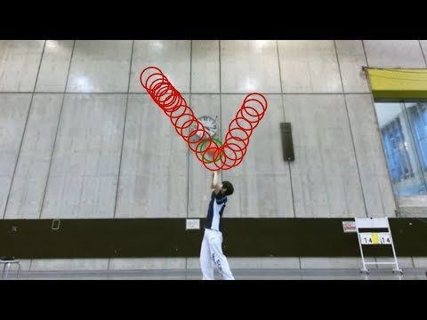 バレーボールにおけるトスの動きから0.3秒後のボール軌道を予測するニューラルネットワークを用いた手法