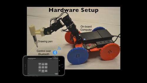 ドラッグ・アンド・ドロップでロボット設計できる初心者向けインタラクティブ・デザインツール