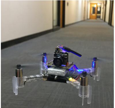 未知の廊下をドローンが(単眼カメラのみで)衝突回避しながら自律飛行できる機械学習を用いた手法